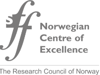 Logo for Norwegian Centre of Excellence (RCN)