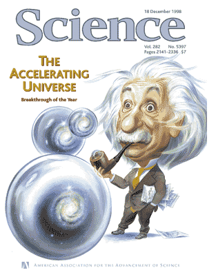 Science cover 1998