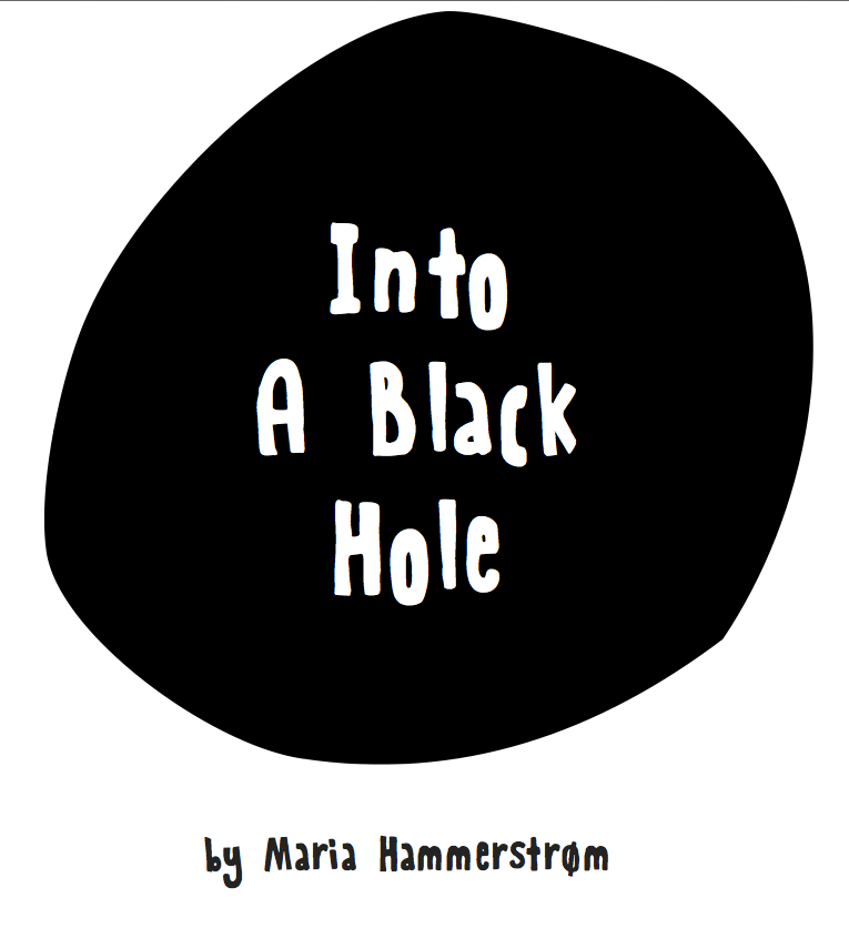 Into a Black hole - forside