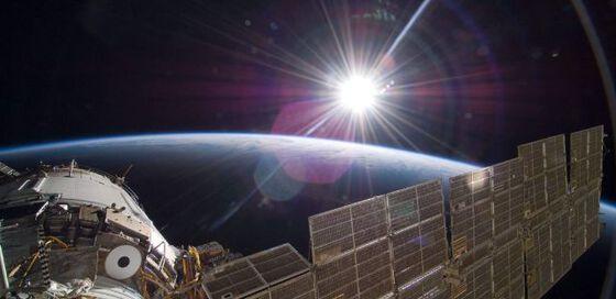 verdensrommet, satellitten, jorda