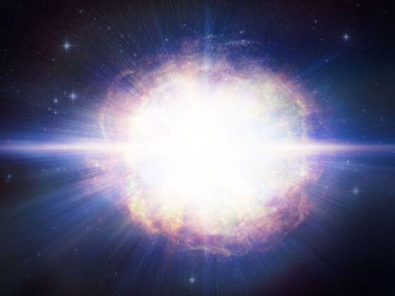 Bildet kan inneholde: himmel, stemning, lys, astronomisk objekt, verdensrommet.