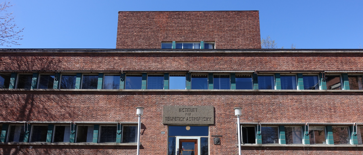 photo of the Svein Rosseland's building at Blindern campus