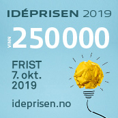 plakat for Ideprisen 2019