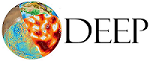 Logo: Norwegian Research School for Dynamics and Evolution of Earth and Planets (DEEP)