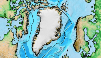 Reconstruction: This illustration/model shows a reconstruction of the formation of the North Atlantic from 60 million years ago until the present day. This model was created in the open source plate tectonics software GPlates using the data from Seton et al (2012) Global continental and ocean basin reconstructions since 200 Ma. Illustration/model:Grace Shephard