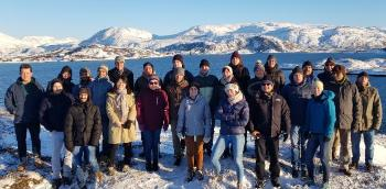 DEEP members and general assembly key note speakers at Sommarøy.