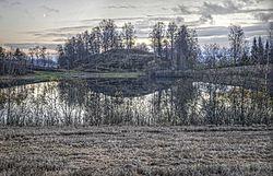 Image may contain: Nature, Natural landscape, Natural environment, Water, Reflection.