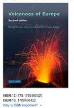 NEW book: Volcanoes of Europe.