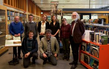 Photo of Darwin Day 2020 speakers and Darwin Prize 2019 awardees.