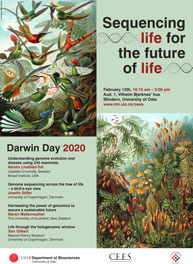 Darwin Day poster.