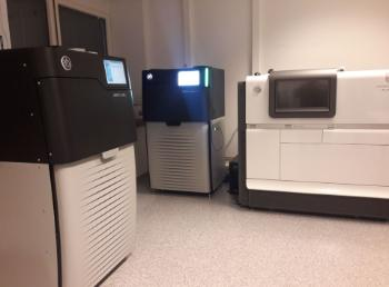 PacBio instruments in the NSC lab