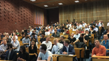 Fullsatt auditorium under DataScience Day 2017
