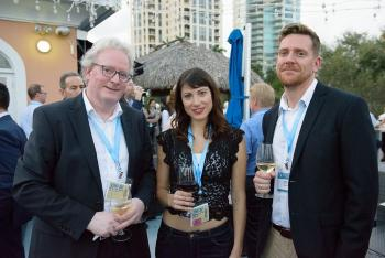 Trond Vidar, Cristina Lopez-Vicario (University of Barcelona) and Anders at the Gala diner during the conference Bioactive Lipids in Cancer, Inflammation and Related Diseases (St. Petersburg, Florida, October 2019).