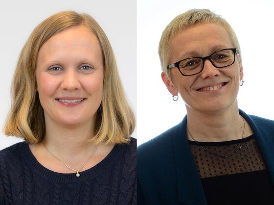 Marianne Lea og Liv Mathiesen