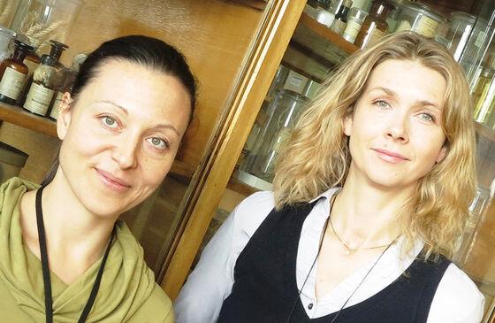 Angela Lupattelli og Hedvig Nordeng