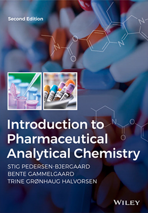 "Forsida til ""Introduction to Pharmaceutical Analytical Chemistry"""