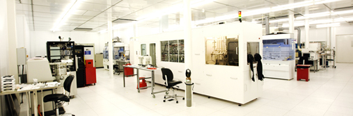 The cleanroom at MiNaLab