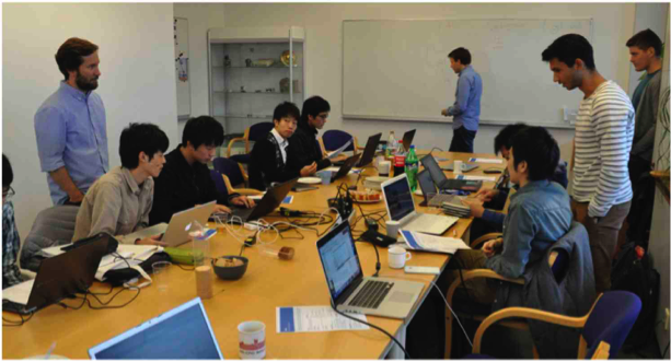 Project work during the 2nd 4DSpace Numerical Workshop