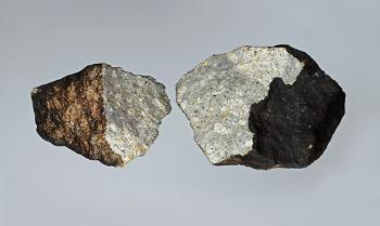 "The ""Oslo"" meteorite. Photo: Øivind Thoresen"