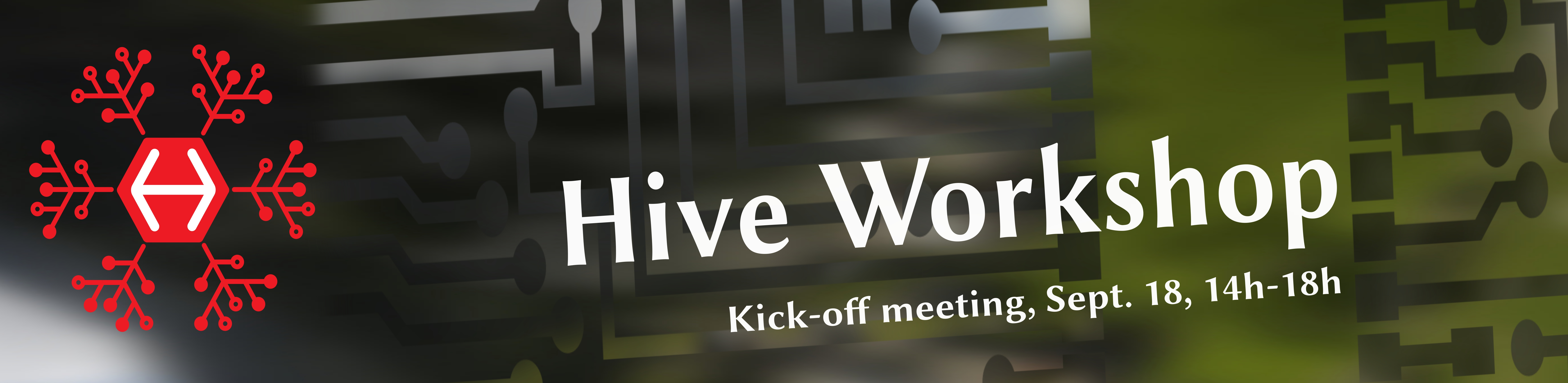 Welcome to the Hive-workshop 18. Sept., Åpen sone/IFI.