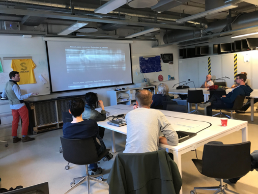 The Hive Workshop took place 18.9.2018 at UiO. A total of 20 participants used the opportunity to learn more about this eInfrastructure initiative to establish a hub at the Faculty of Mathematics and Natural Sciences at the University of Oslo for projects integrating technological development.