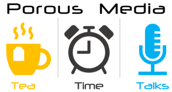 Logo: Porous Media Tea Time Talks