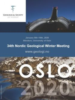 34th Nordic Geological Winter Meeting (NGWM20), 8-10. januar 2020, Oslo (UiO). Plakat: NGF