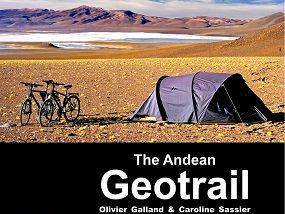 Plakat fra Geotrail utstillingen 2014, Realfagsbiblioteket, UiO.