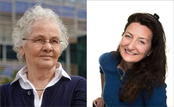 Foreleserne Christiane Nüsslein-Volhard og May-Britt Moser