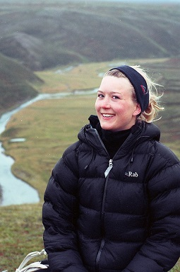 Norith Eckbo på fjelltur