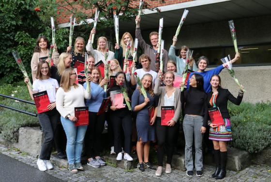 masterstudenter, foto