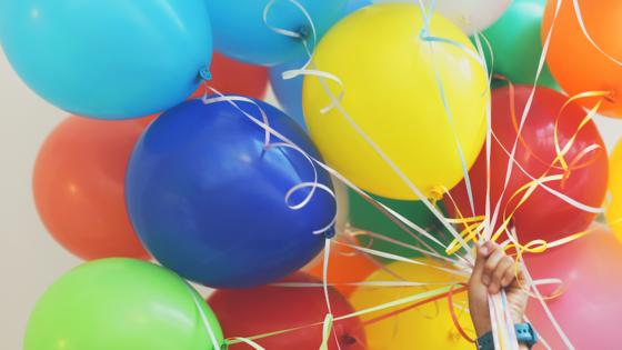 Ballonger, illustrasjonsfoto