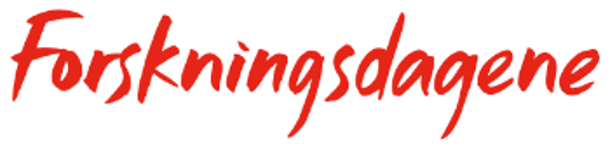 Logo for Forskningsdagene.