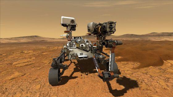 Bildet kan inneholde: robot, maskin, teknologi, militær robot, landskap.