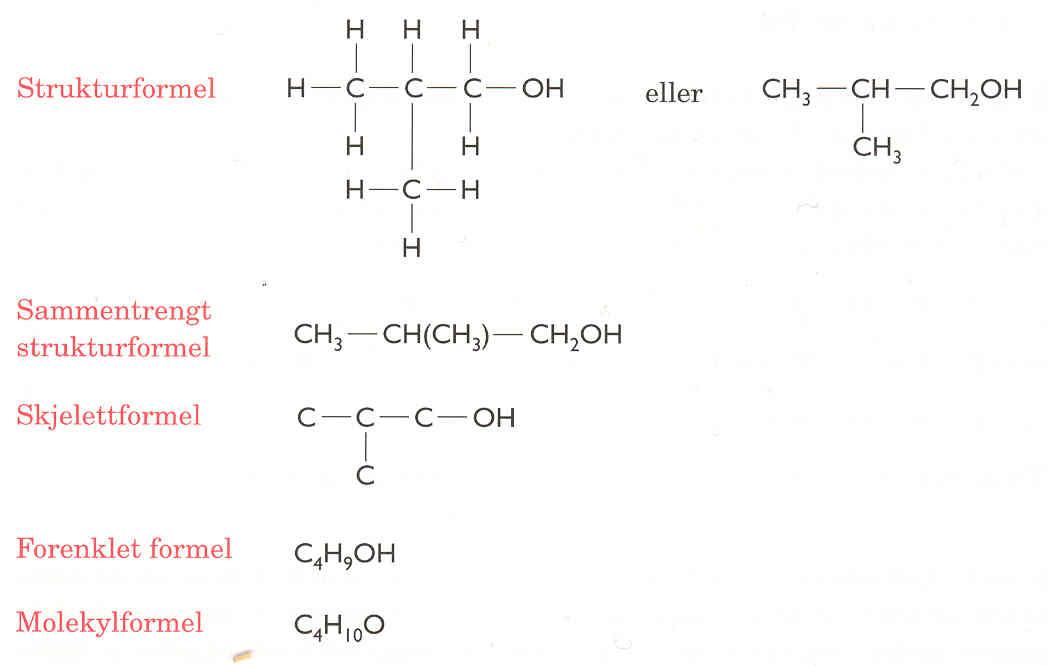 Eddiksyre strukturformel