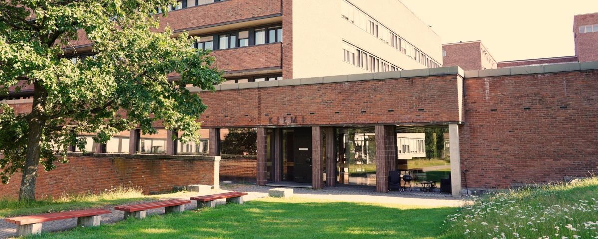 The department of chemistry in summer.