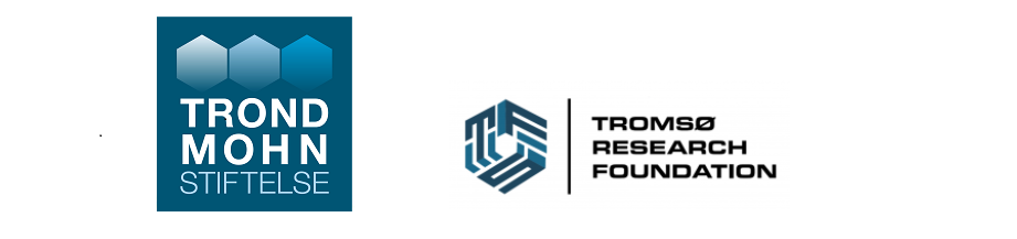 Logo Trond Mohn Foundation and Tromsø Research Foundation.