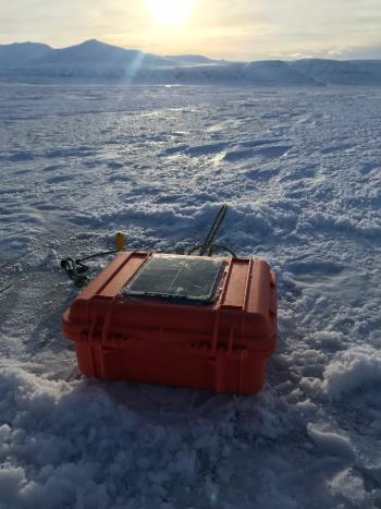 Bildet kan inneholde: Is, Arktis, Hav, Hav, Himmel.