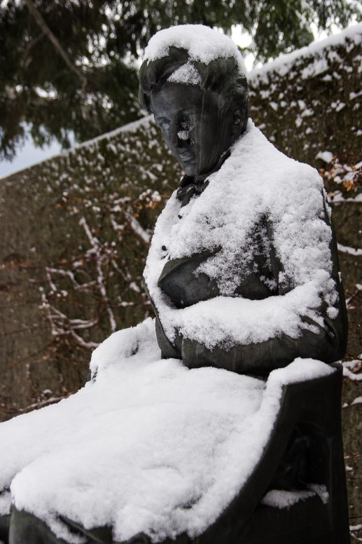 Snow ,Sculpture ,Tree ,Statue ,Art.
