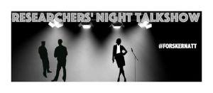 Researcest Night Talkshow på Nasjonalgalleriet