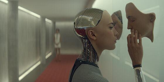 robot i korridor