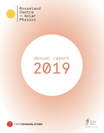 cover for the annual report of the centre