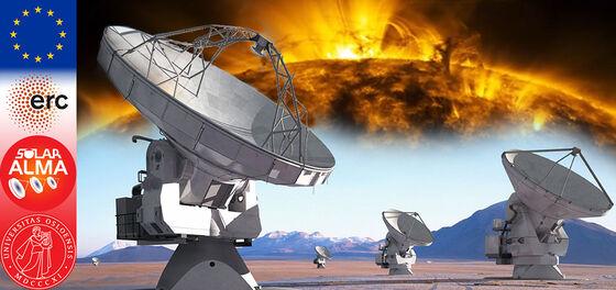 Image may contain: Radio telescope, Light, World, Telecommunications engineering, Biome.