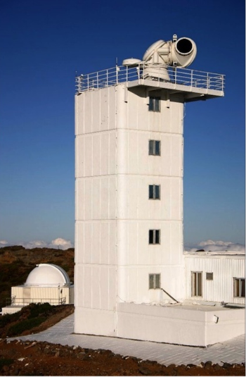 Solar Telescope on La Palma